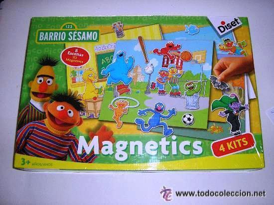 Magnetics Barrio Sesamo 8 Escenas 112 4 Kits Ju Comprar Juegos