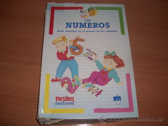 PUZZLE DE NUMEROS PRESCHOOL (Juguetes - Juegos - Educativos)