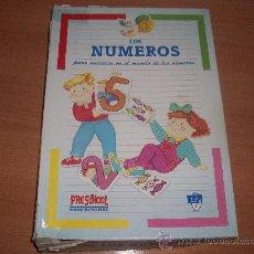 Juegos educativos: PUZZLE DE NUMEROS PRESCHOOL. Lote 29734887