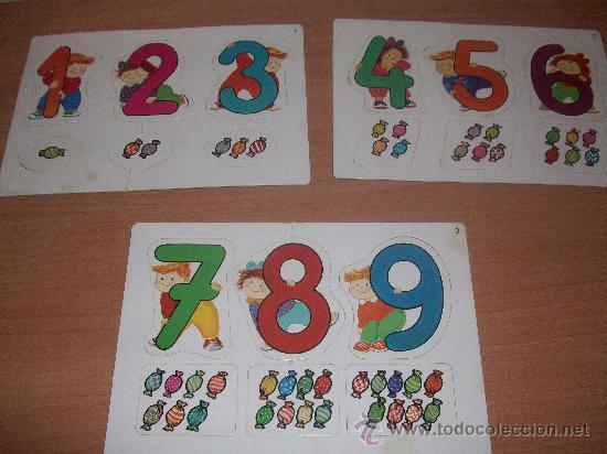 Juegos educativos: puzzle de numeros preschool - Foto 2 - 29734887