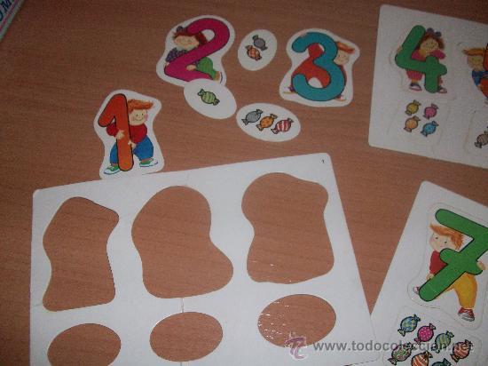 Juegos educativos: puzzle de numeros preschool - Foto 3 - 29734887