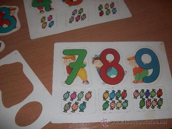 Juegos educativos: puzzle de numeros preschool - Foto 4 - 29734887