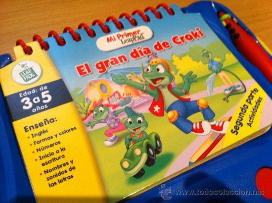 Mi Primer Leappad Libro Educativo Primeros Estu Comprar Juegos