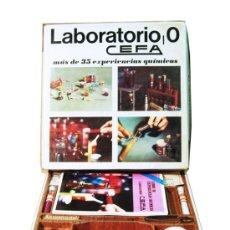 Juegos educativos: LABORATORIO, 0 CEFA. MÁS DE 35 EXPERIENCIAS QUÍMICAS. AÑOS 70. INTERESANTE. Lote 31269327