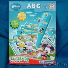 Juegos educativos: LA CASA DE MICKEY MOUSE - JUEGO EDUCATIVO ABC DISNEY - CLEMENTONI. Lote 31868176