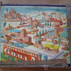 Juegos educativos: CONSTRUCCIONES - MINIATURAS GOULA. Lote 32011352