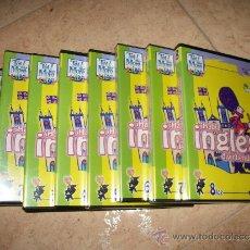 Juegos educativos: 8 CDS - CURSO INGLES NIÑOS - TELL ME MORE KIDS - HABLA INGLES DIVIRTIENDOTE - NUEVO - 4 PRECINTADOS . Lote 32293403