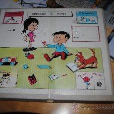 Juegos educativos: AÑOS 60-70. APRENDO A VIVIR. MI CARPETA PARA TODO. DDB. PUBLICACIONES PEDAGOGICAS. IMPRESIONANTE!!!!. Lote 33792744