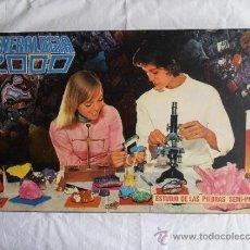 Juegos educativos: JUEGO ANTIGUO DE MINERALES MINERALOGIA 2000 . Lote 100049903
