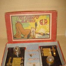 Juegos educativos: ANTIGUO TELEGRAFO ELECTRICO DE G.P. EN CAJA ORIGINAL .. Lote 34300070