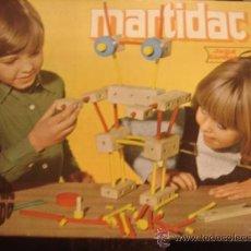 Juegos educativos: MARTIDAC-2. APRENDER JUGANDO, JUEGOS EDUCATIVOS GOULA. EN MADERA EN Y COMPLETO.. Lote 122714918