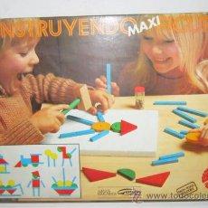 Juegos educativos: CONSTRUYENDO FIGURAS MAXI, EN CAJA. CC. Lote 34639015