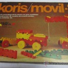 Juegos educativos: KORIS / MOVIL 2, EN CAJA. CC. Lote 34639024