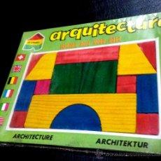 Juegos educativos: JUGUETE ANTIGUO ESPAÑOL CONSTRUCCION. ARQUITECTURA. NUNCA ABIERTO. ENVIO ORDINARIO 3,5 €. Lote 51523050