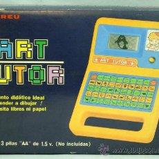 Juegos educativos: ART TUTOR JUEGO ELECTRÓNICO DE ANDREU PARA APRENDER DIBUJAR AÑOS 80 FUNCIONA. Lote 35411100