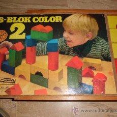 Juegos educativos: JUEGO GOULA TODO EN MADERA INCL. LA CAJA AÑOS 60-70 B-BLOCK COLOR 2. Lote 35658205