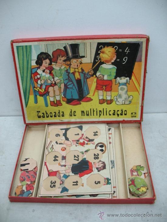 KLEE - ANTIGUO JUEGO DE MESA ALEMÁN DE 1940 PUZZLE PARA APRENDER A MULTIPLICAR (Juguetes - Juegos - Educativos)
