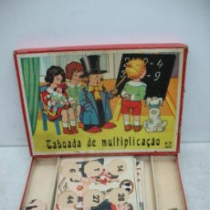 Juegos educativos: KLEE - ANTIGUO JUEGO DE MESA ALEMÁN DE 1940 PUZZLE PARA APRENDER A MULTIPLICAR. Lote 36349666