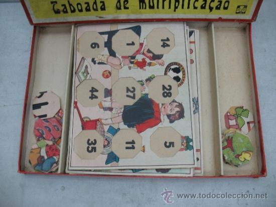 Juegos educativos: KLEE - Antiguo juego de mesa alemán de 1940 Puzzle para aprender a multiplicar - Foto 2 - 36349666