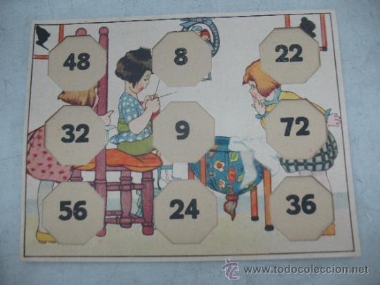 Juegos educativos: KLEE - Antiguo juego de mesa alemán de 1940 Puzzle para aprender a multiplicar - Foto 4 - 36349666