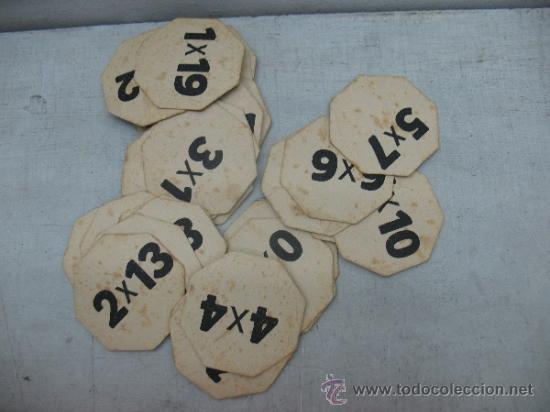 Juegos educativos: KLEE - Antiguo juego de mesa alemán de 1940 Puzzle para aprender a multiplicar - Foto 5 - 36349666