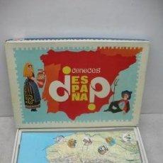 Juegos educativos: D.C.P REF: 620 - JUEGO EDUCATIVO DE MESA ¿CONOCES ESPAÑA?. Lote 36438102