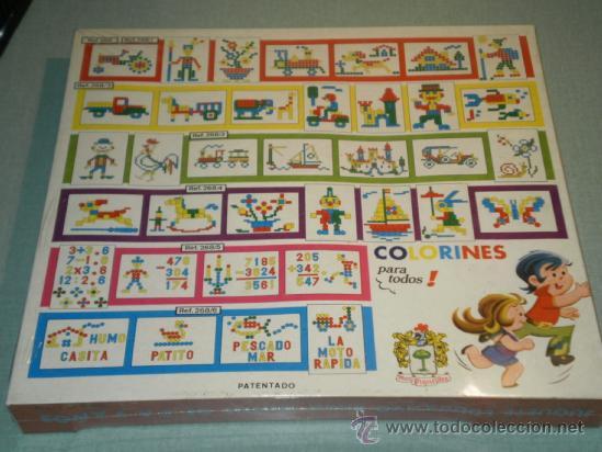 Juegos educativos: NUEVO COLORINES, MOSAICO MULTICOLOR EN RELIEVE. JUGUETES PIQUÉ-REF:268/1- AÑOS 70. LEER DESCRIPCION - Foto 3 - 44420997