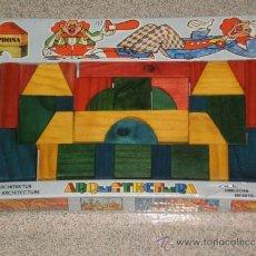 Juegos educativos: JUEGO EDUCATIVO INFANTIL ARQUITECTURA ( DE JUPDOSA MADE IN SPAIN ) EN MADERA ,REF:282. AÑOS 70 . . Lote 36517018