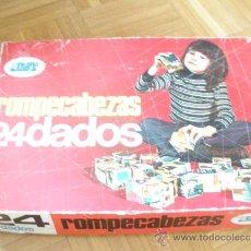 Juegos educativos: ROMPECABEZAS 24 DADOS-EDICIONES JMT- AÑOS 70.. Lote 36642007