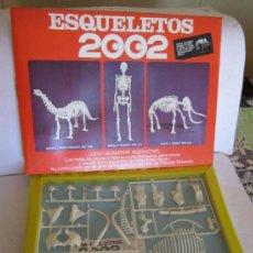 Juegos educativos: JUEGO ESQUELETOS 2002. MODELO MAMUT, REF 829, EN CAJA. CC. Lote 36809621