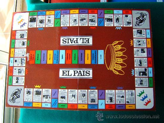 Juegos educativos: EL PAIS EL JUEGO DE LA REDACCION UN JUEGO NADA TRIVIAL - EDUCA - 39X29X7 CM - COMPLETO - AÑO 1985. - Foto 4 - 36949466