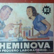 Juegos educativos: CHEMINOVA 3. UN PEQUEÑO LABORATORIO. Lote 36977905