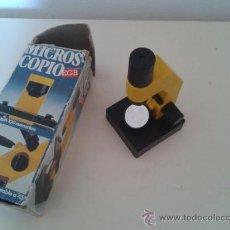Juegos educativos: MICROSCOPIO ESCOLAR EGB CEFA. AÑOS 70 - 80. Lote 37006776