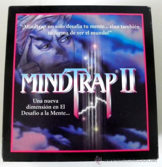 JUEGO DE MESA MINDTRAP II * 2 JUGADORES * JUEGOS SPEAR 1997 COMPLETO (Juguetes - Juegos - Educativos)