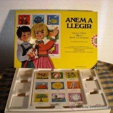 Juegos educativos: ANEM A LLEGIR - JOC EDUCATIU DE EDUCA - ANYS 70 O 80 - EN MOLT BON ESTAT. Lote 37354727