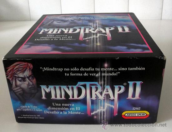 Juegos educativos: Juego de mesa MINDTRAP II * 2 JUGADORES * juegos Spear 1997 COMPLETO - Foto 5 - 37343406
