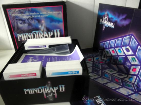 Juegos educativos: Juego de mesa MINDTRAP II * 2 JUGADORES * juegos Spear 1997 COMPLETO - Foto 4 - 37343406