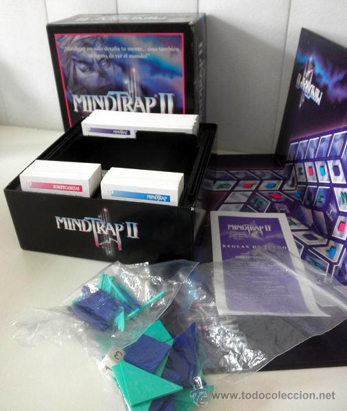 Juegos educativos: Juego de mesa MINDTRAP II * 2 JUGADORES * juegos Spear 1997 COMPLETO - Foto 2 - 37343406