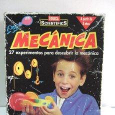 Juegos educativos: JUEGO MARCA EDUCA SCIENTIFICS - MECANICA - CON CAJA - MANUAL INSTRUCCIONES - . Lote 37555410