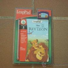 Juegos educativos: LEAPPAD SISTEMA DE APRENDIZAJE, LIBRO INTERACTIVO CON CARTUCHO, NUEVO. Lote 103743564