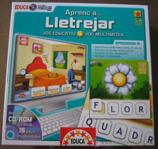 Juego De Aprender A Deletrear Incluye Cd Rom Co Comprar Juegos
