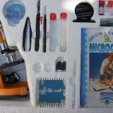 Juegos educativos: MICROSCOPIO DE JUGUETE MICROCEFA. MICROSCOPIO. JOVEN CIENTÍFICO. Lote 38152084