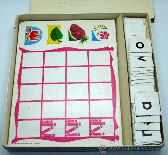 Juegos educativos: Loto lectura Didacta juego educativo para aprender a leer años 70 - Foto 3 - 38233050