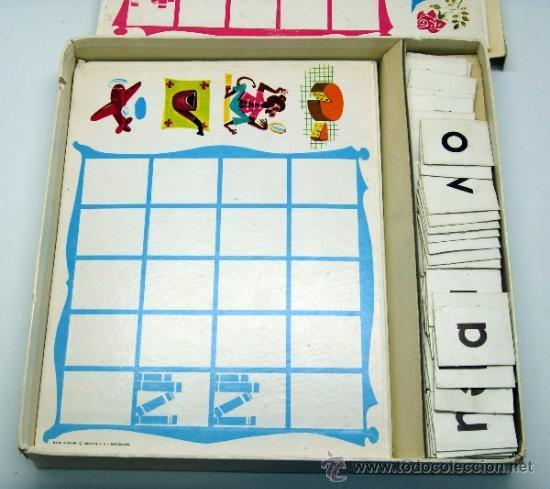 Juegos educativos: Loto lectura Didacta juego educativo para aprender a leer años 70 - Foto 5 - 38233050