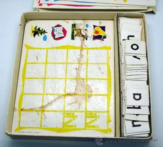 Juegos educativos: Loto lectura Didacta juego educativo para aprender a leer años 70 - Foto 4 - 38233050