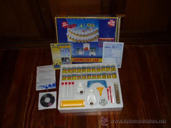 CHMISTRY LAB LABORATORIO QUIMICO ED. DISCOVERY WORLD JUEGO DE MESA (Juguetes - Juegos - Educativos)