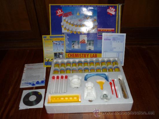 Juegos educativos: CHMISTRY LAB LABORATORIO QUIMICO Ed. DISCOVERY WORLD JUEGO DE MESA - Foto 2 - 38382492