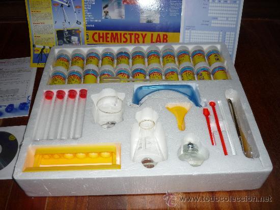 Juegos educativos: CHMISTRY LAB LABORATORIO QUIMICO Ed. DISCOVERY WORLD JUEGO DE MESA - Foto 3 - 38382492