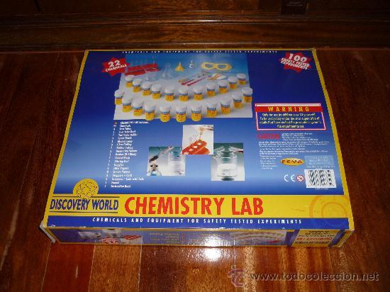 Juegos educativos: CHMISTRY LAB LABORATORIO QUIMICO Ed. DISCOVERY WORLD JUEGO DE MESA - Foto 7 - 38382492