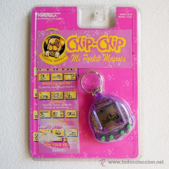 Chip Chip Mi Pocket Mascota Electronic Lcd G Comprar Juegos